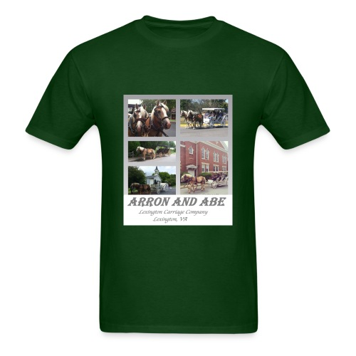 Arron and Abe Tshirt--adult - Men's T-Shirt