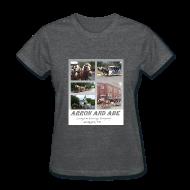 T-Shirts ~ Women's T-Shirt ~ Arron and Abe Tshirt--ladies