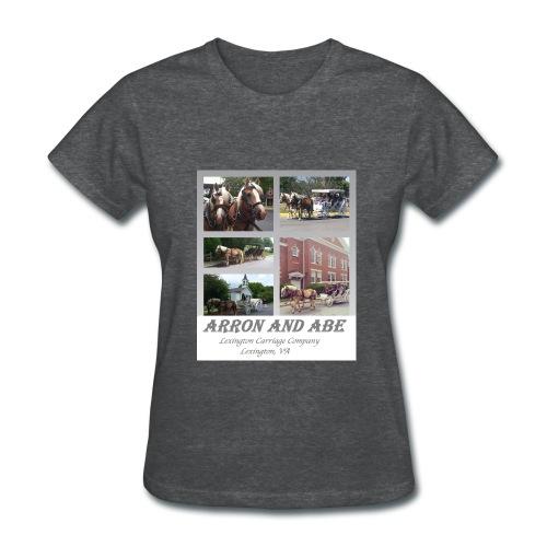 Arron and Abe Tshirt--ladies - Women's T-Shirt