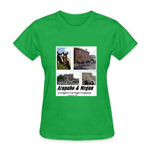 Arapaho and Megan Tshirt--ladies - Women's T-Shirt