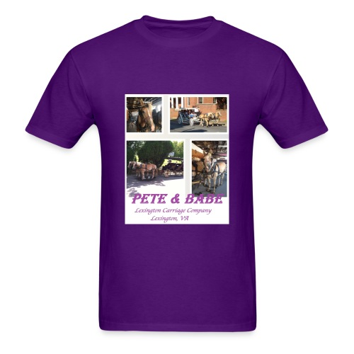 Pete and Babe Tshirt--adult - Men's T-Shirt