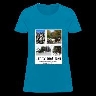 T-Shirts ~ Women's T-Shirt ~ Jenny and Jake Tshirt--ladies