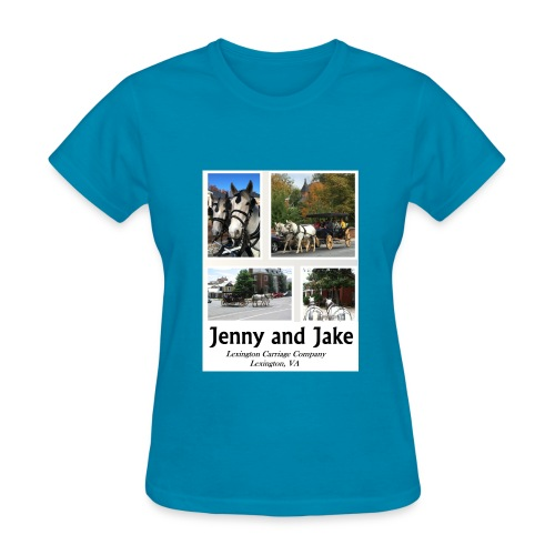 Jenny and Jake Tshirt--ladies - Women's T-Shirt