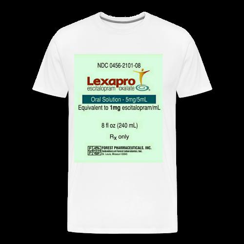 anti depressant - Men's Premium T-Shirt