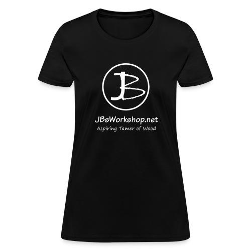 (Women's) JB with JBsWorkshop (white) - Women's T-Shirt
