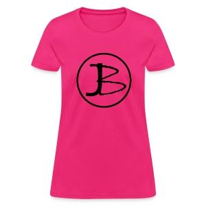 (Women's) JB logo front - Women's T-Shirt