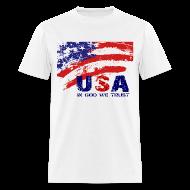 T-Shirts ~ Men's T-Shirt ~ USA w/darker art