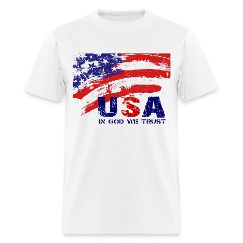 USA w/darker art - Men's T-Shirt