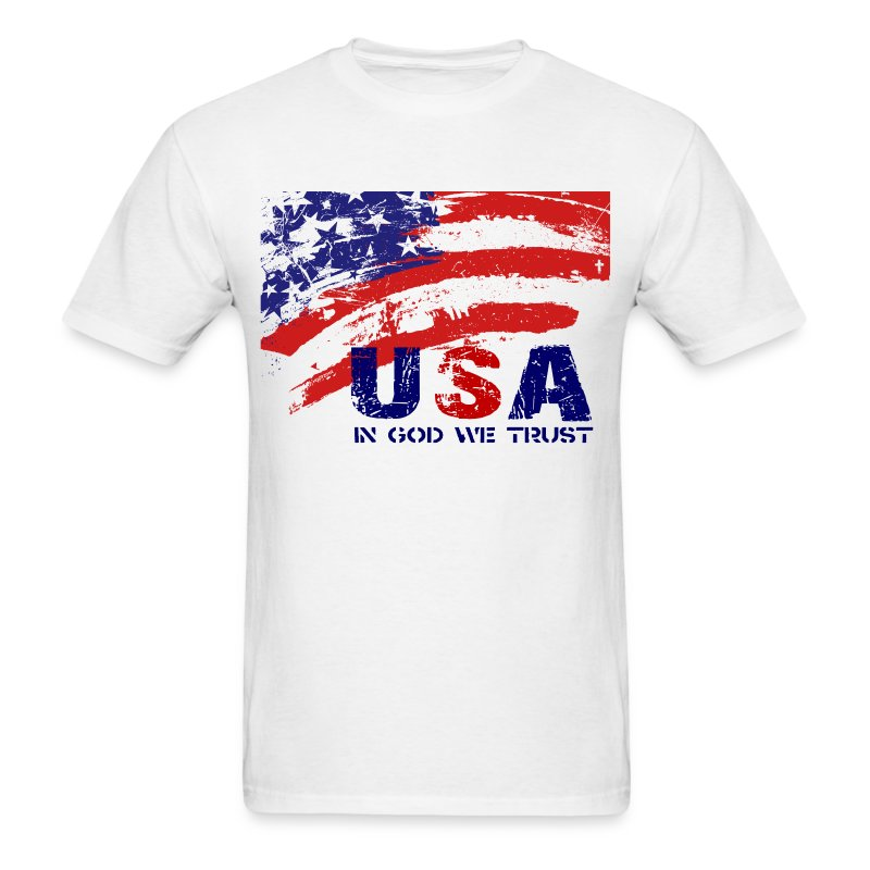 USA w/darker art - Men's T-Shirt