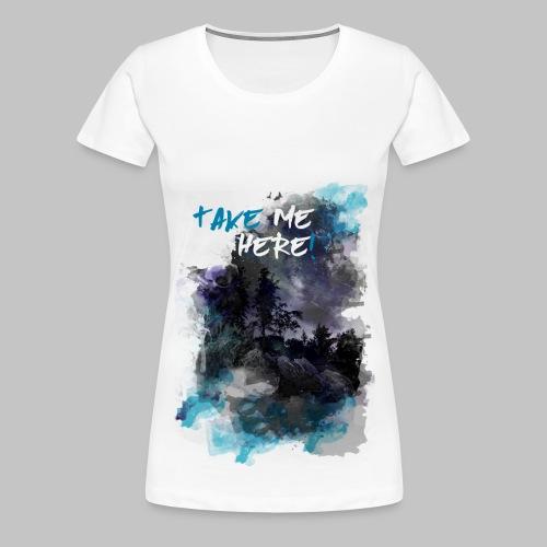 travler tee - Women's Premium T-Shirt