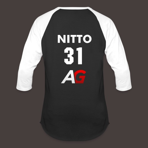 Nitto Number Jersey - Baseball T-Shirt
