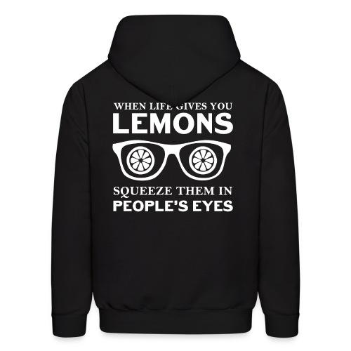 Life Lemons Men's Hoodie - Men's Hoodie