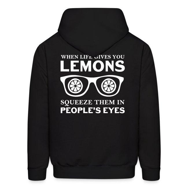 Life Lemons Men's Hoodie