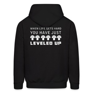 Level Up Men's Hoodie - Men's Hoodie