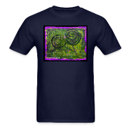 T-Shirts ~ Men's T-Shirt ~ Schnecken Baume