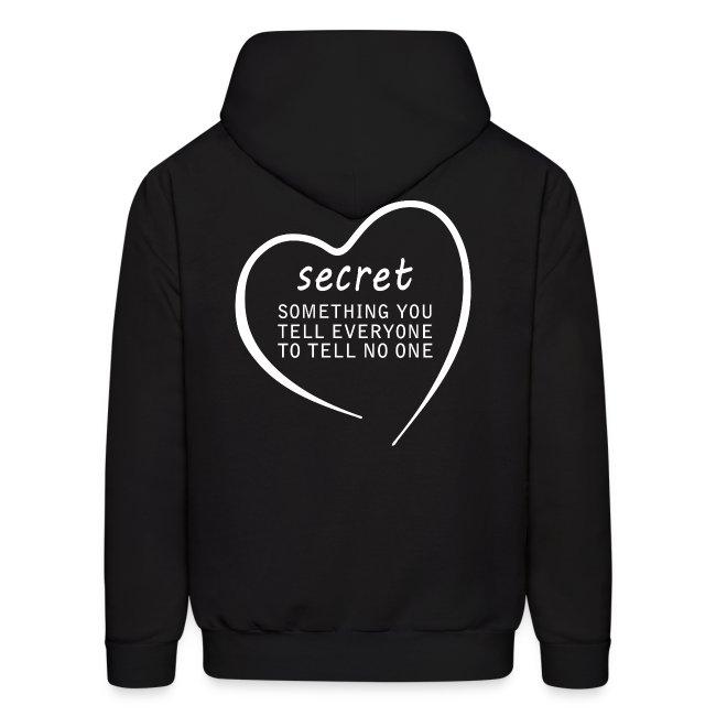 Secret Men's Hoodie