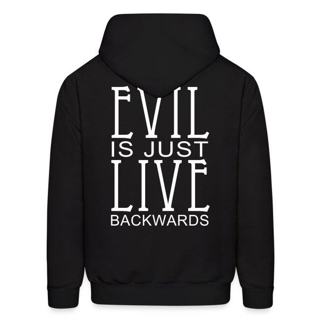 Live Evil  Men's Hoodie