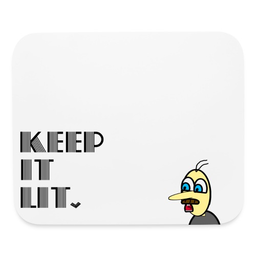 Keep it Lit and Marcus - mouse pad - Mouse pad Horizontal