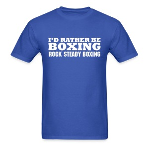 Rather Be Boxing  - Men's T-Shirt