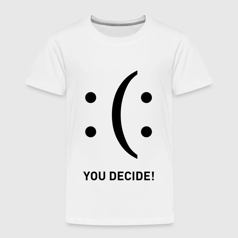 smiley you decide sad happy sadness smile T-Shirt ...