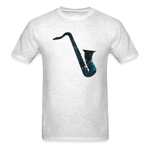 insaneintherainmusic Male Space Logo - Men's T-Shirt