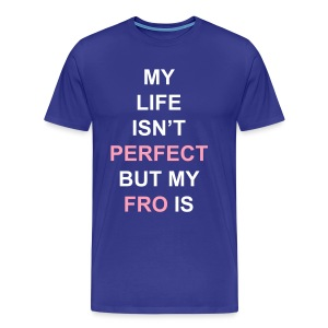 Perfect Fro (plus) - Men's Premium T-Shirt