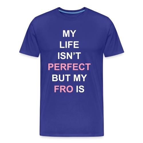 Perfect Fro (plus) - Men's Premium T-Shirt