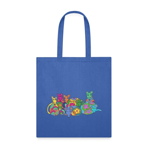 Rainbow Rat Tote Bag - Tote Bag