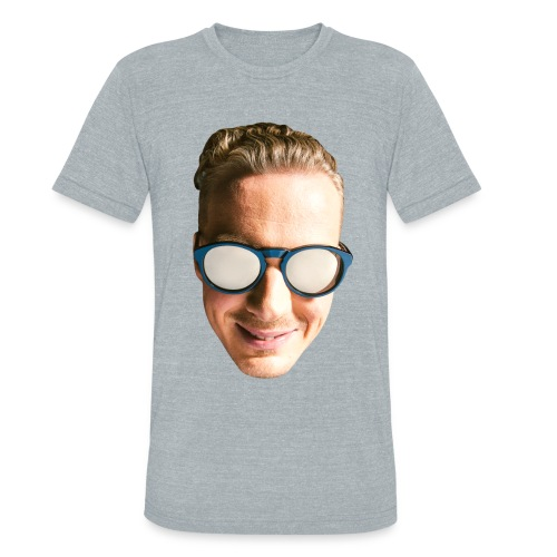 PHACE - FACE - SO EXCITED  - Unisex Tri-Blend T-Shirt