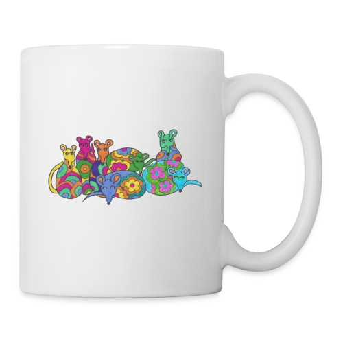 Rainbow Rats Coffee Mug - Coffee/Tea Mug