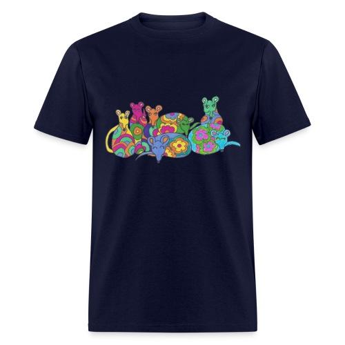 Rainbow Rats Men's Tee Shirt - Men's T-Shirt