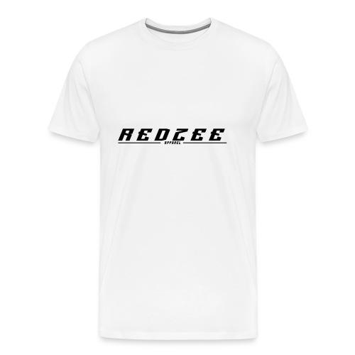 Redzee white tee-shirt - Men's Premium T-Shirt