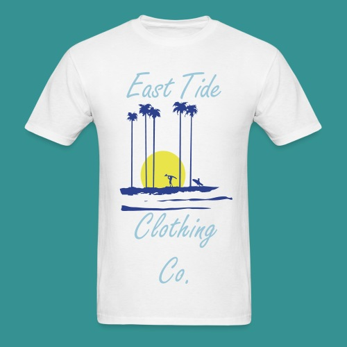 Sunset East Tide T-Shirt - Men's T-Shirt