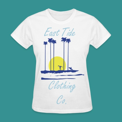 Sunset East Tide T-Shirt - Women's T-Shirt