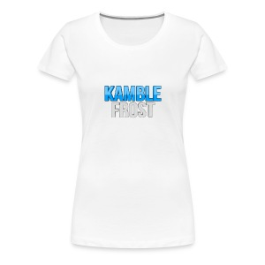 Kamble Frost Womans basic - Women's Premium T-Shirt