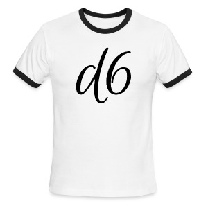 d6 Collab Ringer T-Shirt - Men's Ringer T-Shirt