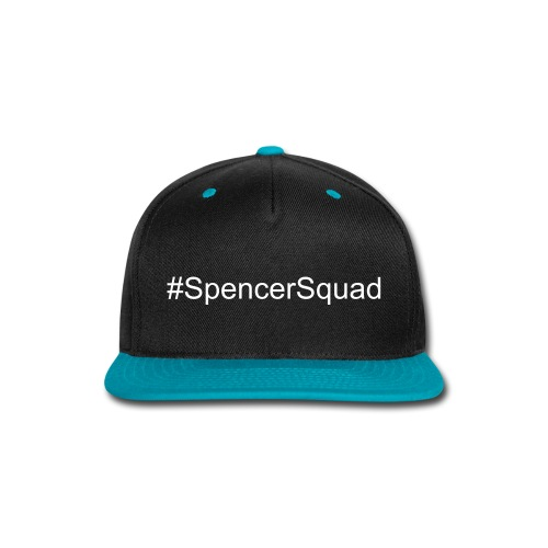 #SpencerSquad Blue/Black Hat - Snap-back Baseball Cap