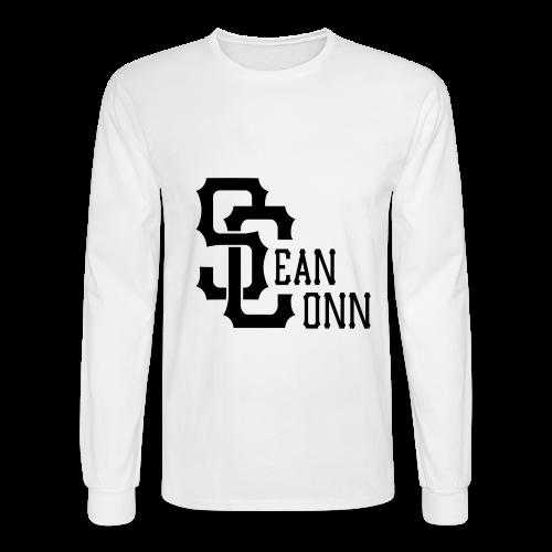 Long Sleeve - black text - Men's Long Sleeve T-Shirt
