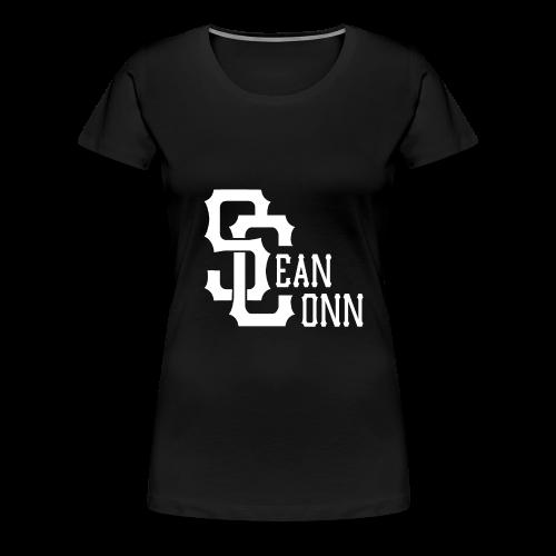 Women's Tee - white text - Women's Premium T-Shirt