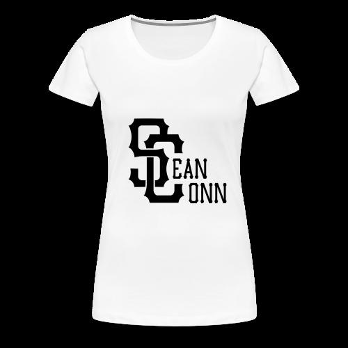 Women's Tee - black text - Women's Premium T-Shirt