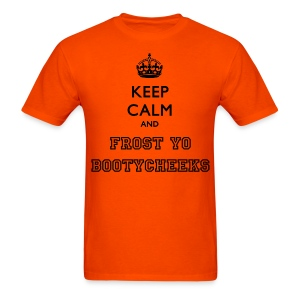 Orange Keep Calm shirt - Men's T-Shirt