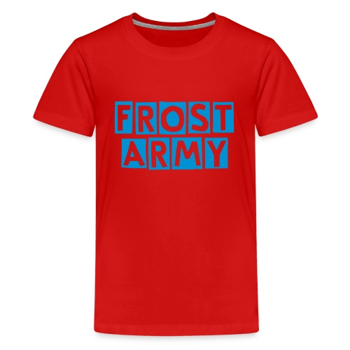 Red Frost Army Shirt - Kids' Premium T-Shirt