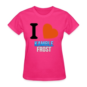 I Love Kamble Frost Pink - Women's T-Shirt