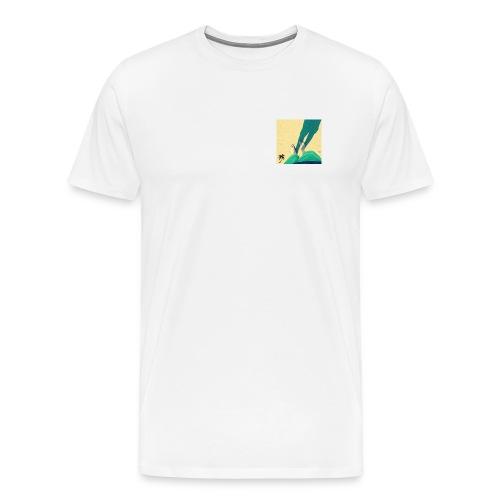 Sawtooth Classic - Men's Premium T-Shirt