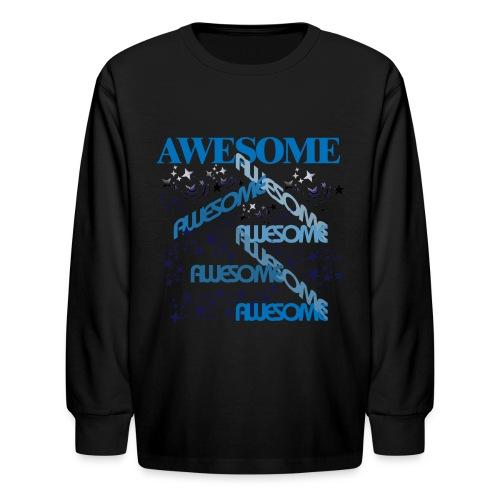 AWESOME KIDS - Kids' Long Sleeve T-Shirt
