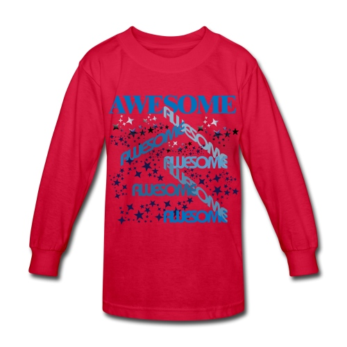AWESOME KIDS - Kids' Long Sleeve T-Shirt
