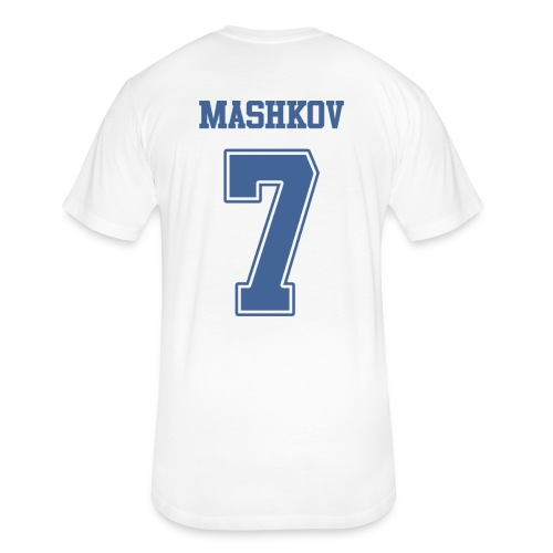 Mashkov Shirsey - Fitted Cotton/Poly T-Shirt by Next Level