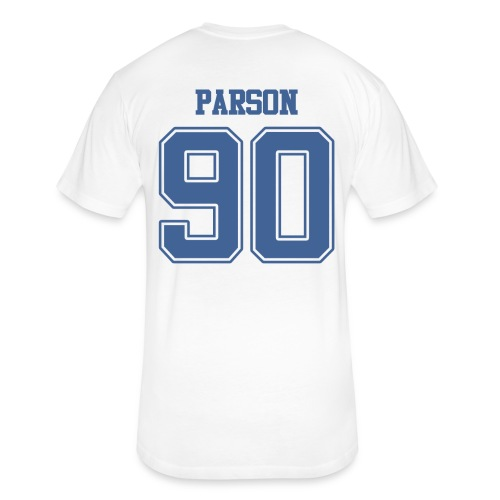 Parson Shirsey - Fitted Cotton/Poly T-Shirt by Next Level
