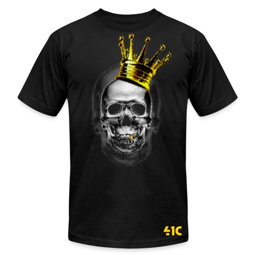 Skull and Crown - Men's Fine Jersey T-Shirt
