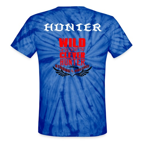WILD HUNTER - Unisex Tie Dye T-Shirt